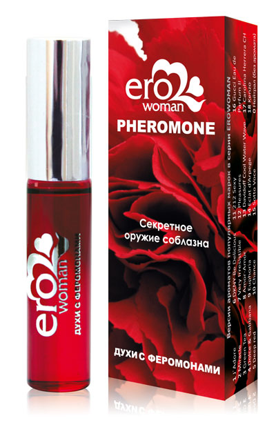 Женские духи с феромонами Erowoman №17 - 10 мл.
