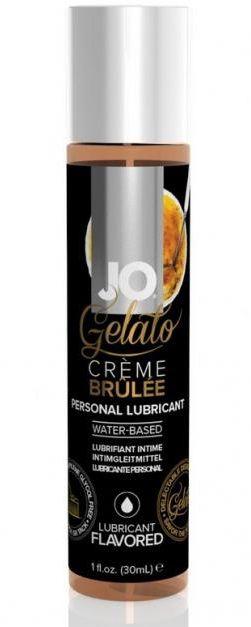 Лубрикант с ароматом крем-брюле Jo Gelato Creme Brulee - 30 мл.